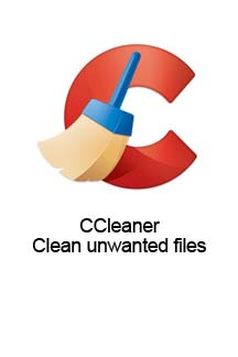 CCleaner - Clean unwanted files