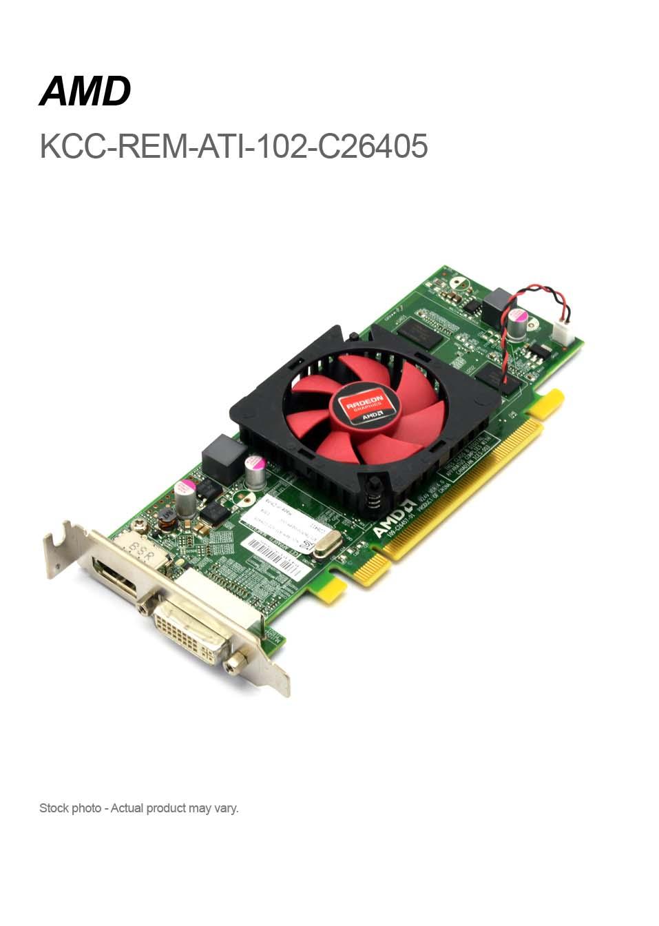 Radeon C26405 HD6450 1GB DDR3 Low Profile DVI PCI-E Video Graphics Card Desktop