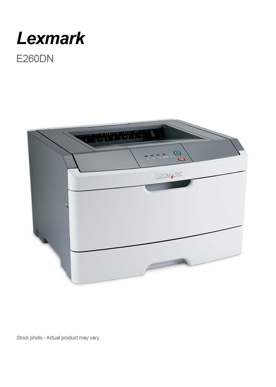 Lexmark MS312dn Network-Ready Monochrome Laser Printer ...