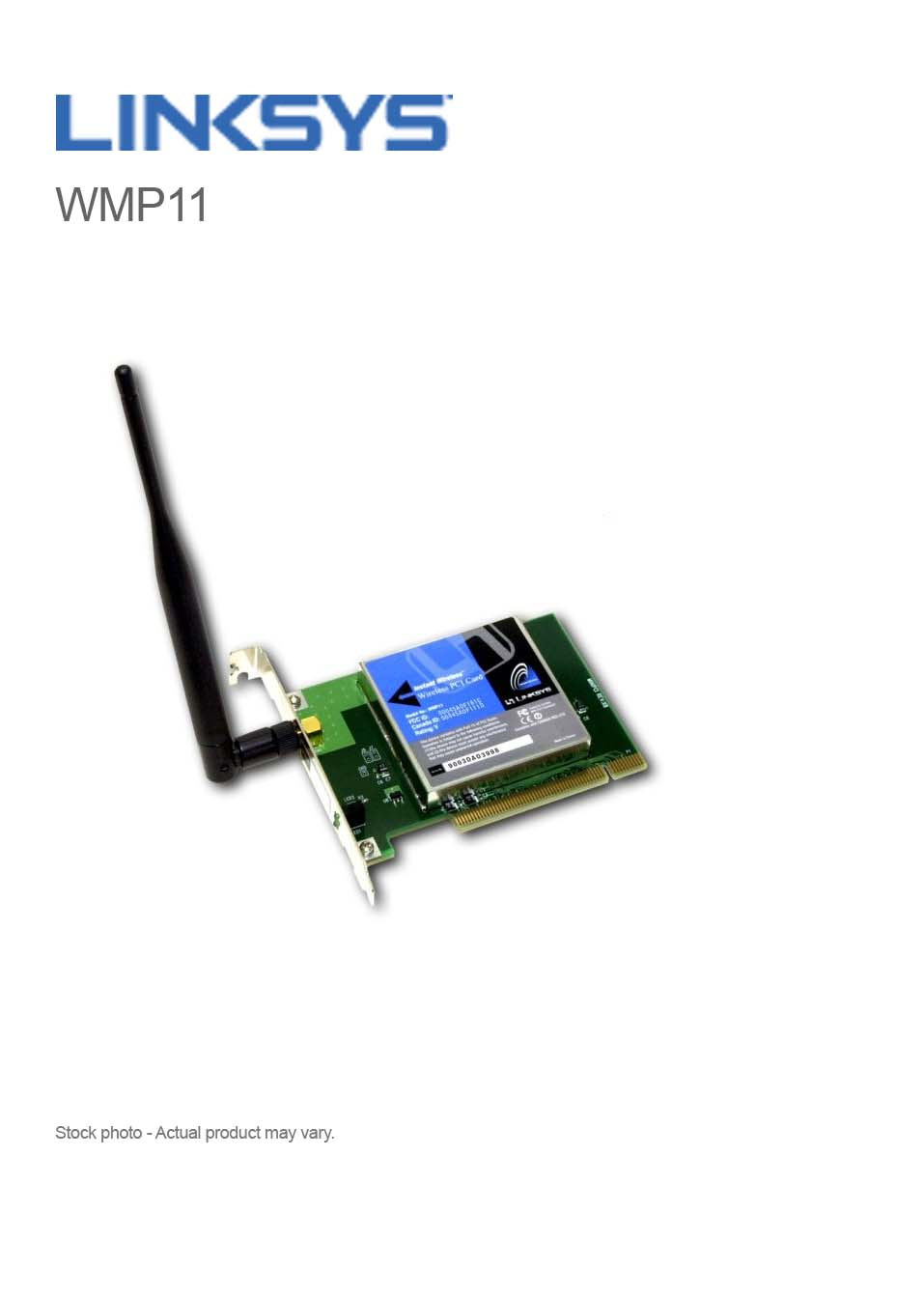 WIRELESS B PCI ADAPTER WMP11 DRIVER FOR WINDOWS 7