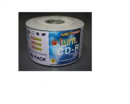Turn 52x CD-R Silver 80min 700 MB 50 PCS