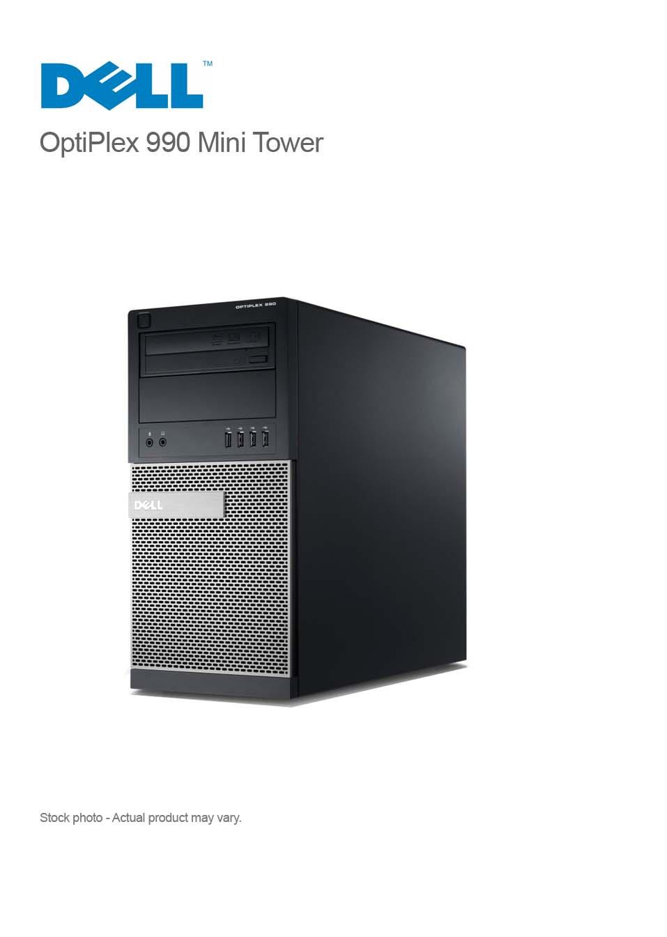 DELL OptiPlex 990 Corei7-2600 3 80GHz 8GB 2TB DVDRW WIN 7