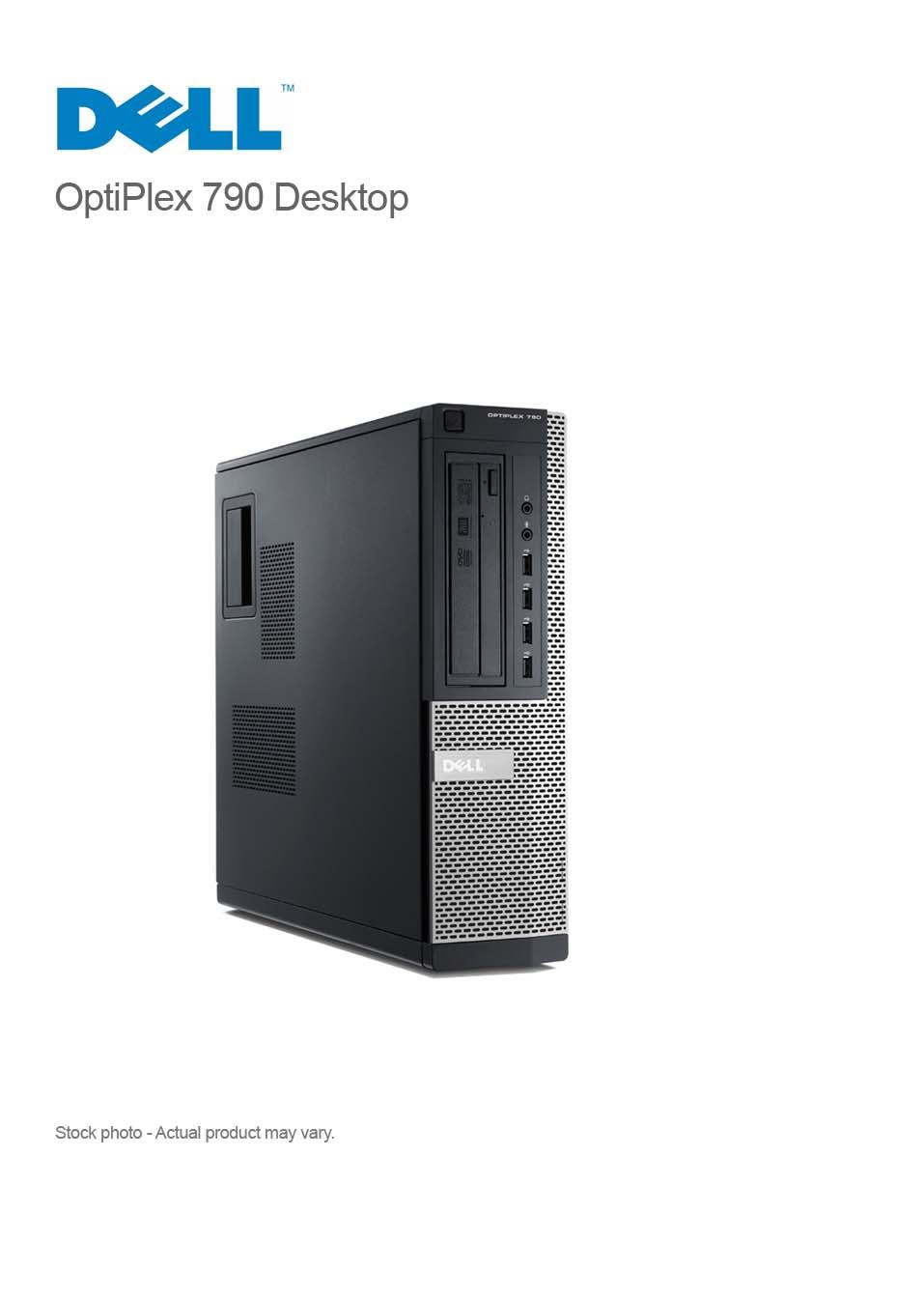 DELL OptiPlex 790 Corei5-2400 3 4GHz 8GB 250GB DVDRW WIN 10