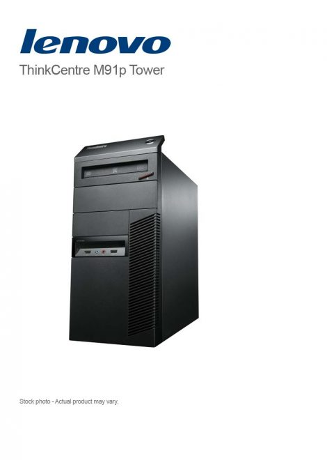 Lenovo ThinkCentre M91 Tower