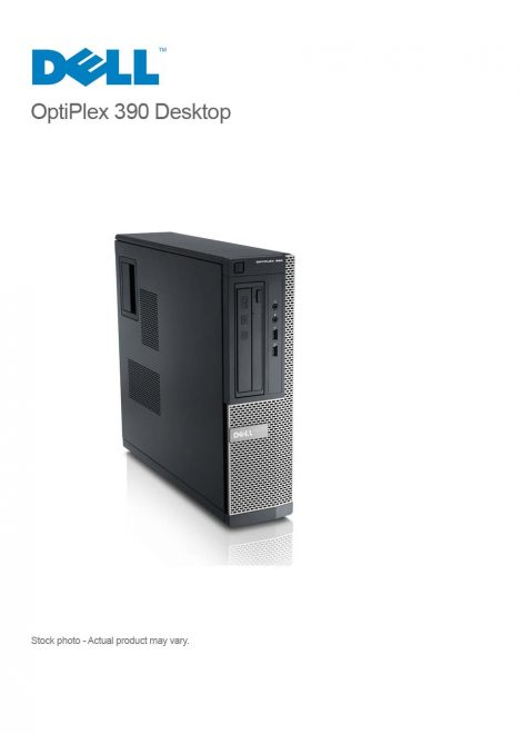 DELL OptiPlex 390 Desktop