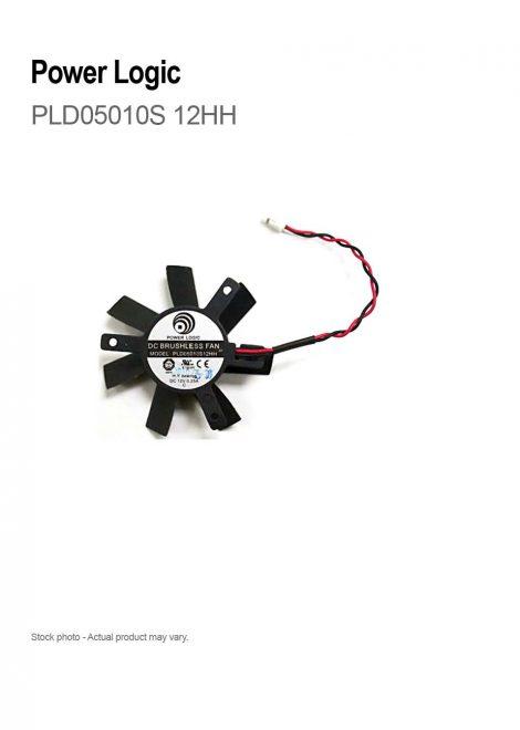 Power Logic DC Brushless Fan PLD05010S 12HH 12V DC 0.25A