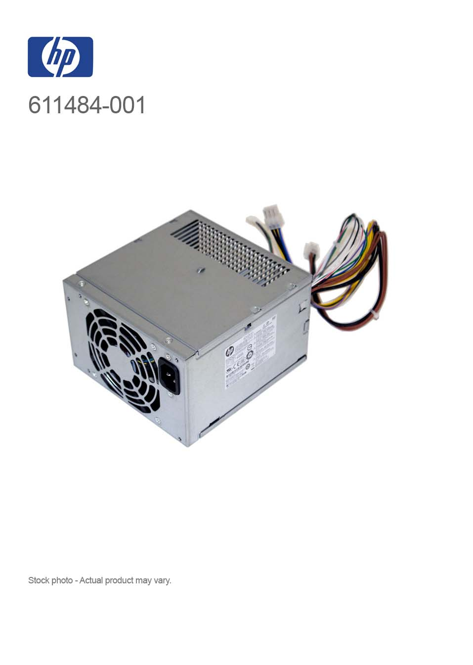 HP 320W 611484-001 PS-4321-1HB Power Supply for 8200, 6200 CMT ...