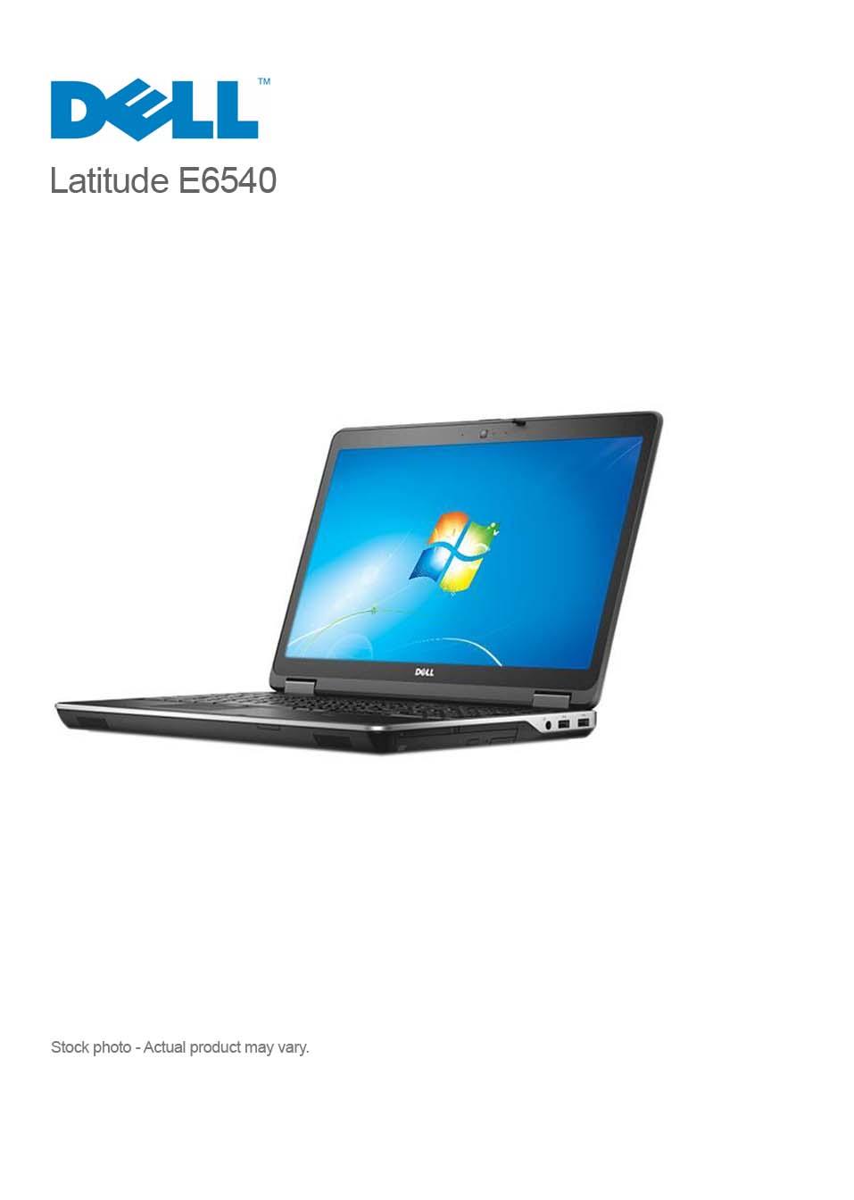 Dell Latitude E6540 Core i7-4800MQ 8GB 320 GB 15 6