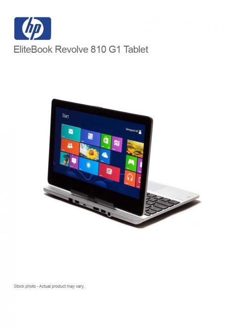 EliteBook Revolve 810 G1 Tablet