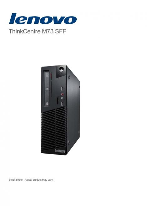 Lenovo ThinkCentre M73 Small Form Factor