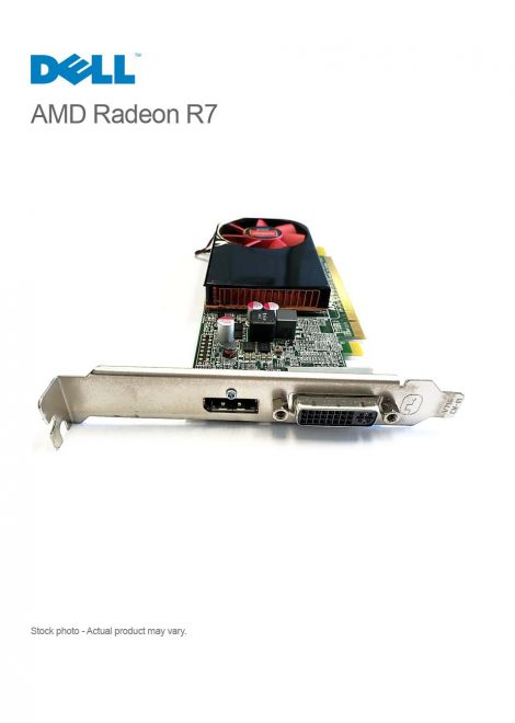 Dell AMD Radeon R7 250 2GB Vc 9C8C0 PCI-e DP/DVI