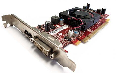 AMD Radeon HD 5450 PCIe DVI DP Video Card Lenovo FRU89Y6151