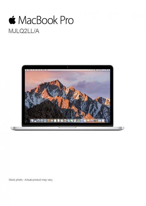 Apple MacBook Pro Core i7-4770HQ 15.4