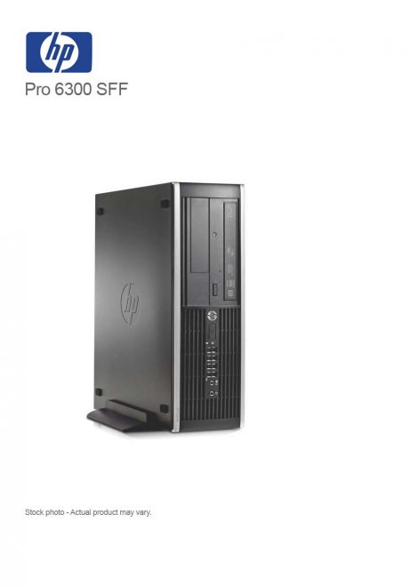 HP Pro 6300Small Form Factor PC