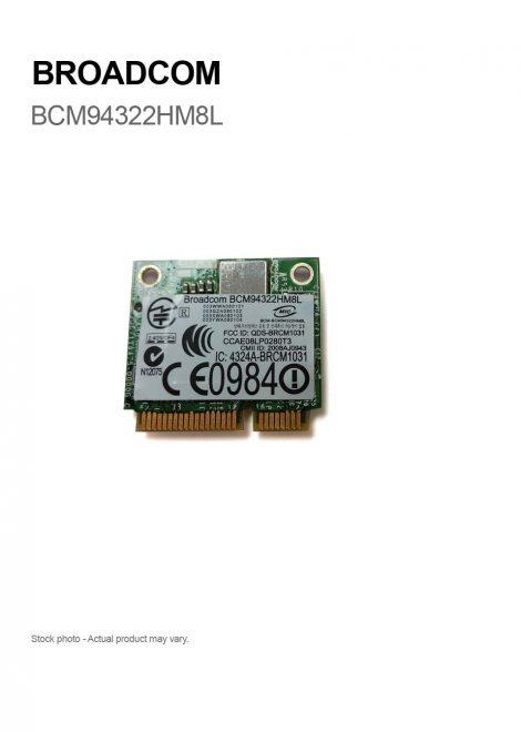 Broadcom 1510 AGN Half Size BCM94322HM8L Dual-band N PCI-e WLAN Card