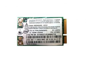 Intel WM3945ABG MOW1 802.11a/b/g Mini PCI-e card