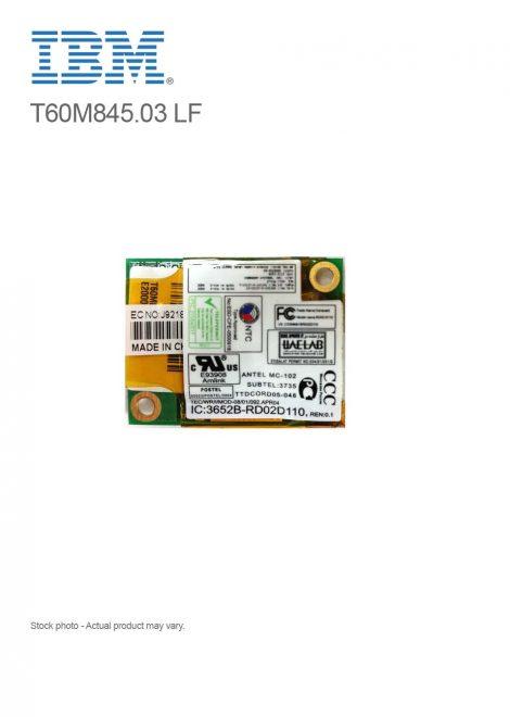 IBM Thinkpad Mini Laptop Data / Fax Dialup Modem 56K Card T60M845.03 LF