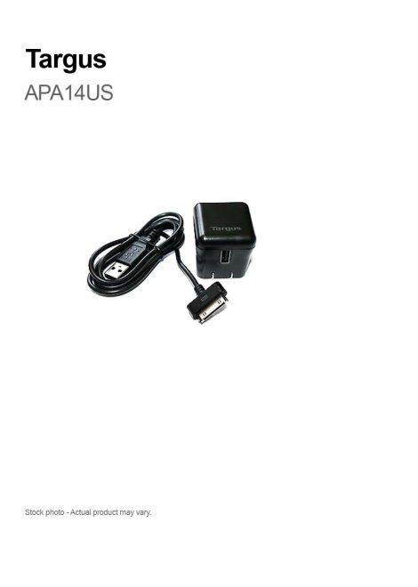Targus APA14US AC Adapter - 5 V DC For iPad, iPod, iPhone