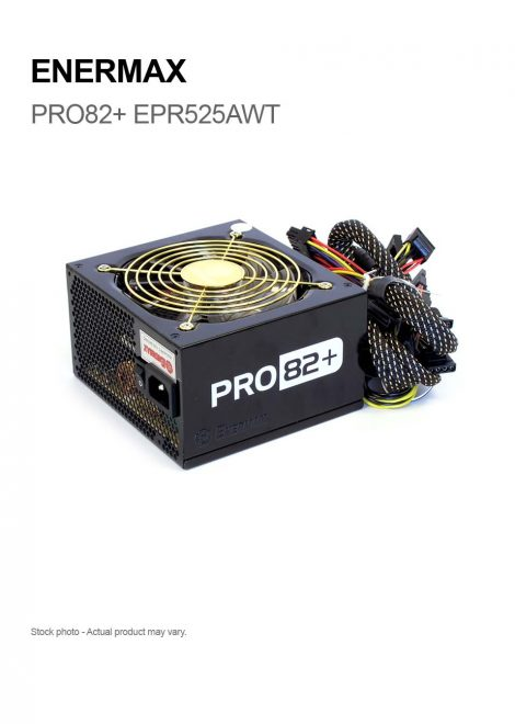 ENERMAX PRO82+ EPR525AWT 525W ATX12V 80 PLUS BRONZE Certified
