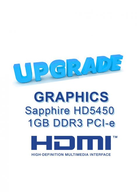 Graphics to HD5450 w/HDMI