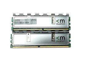 Mushkin 2GB (2 X 1GB) DDR2 800MHz PC2 6400 240-pin 996527