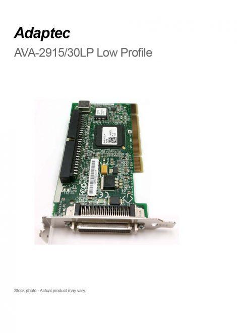 Adaptec AVA-2915/30LP Low Profile PCI SCSI Controller Card