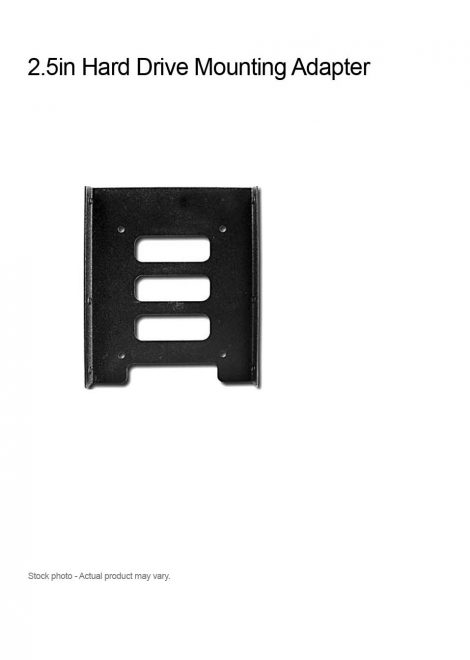 2.5in Hard Drive Mounting Adapter for 3.5in Drive Bay