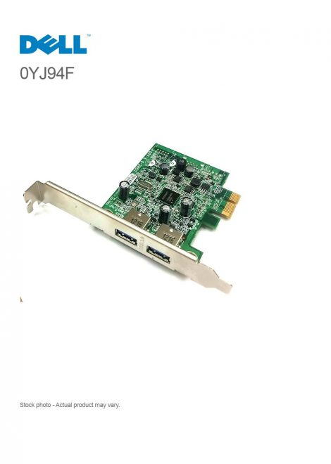 Dell Dual USB 3.0 PCI-Express Card 0YJ94F