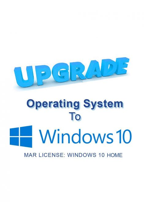 Windows 10 Home Genuine Microsoft Authorized Refurbisher Certificate of Authenticity