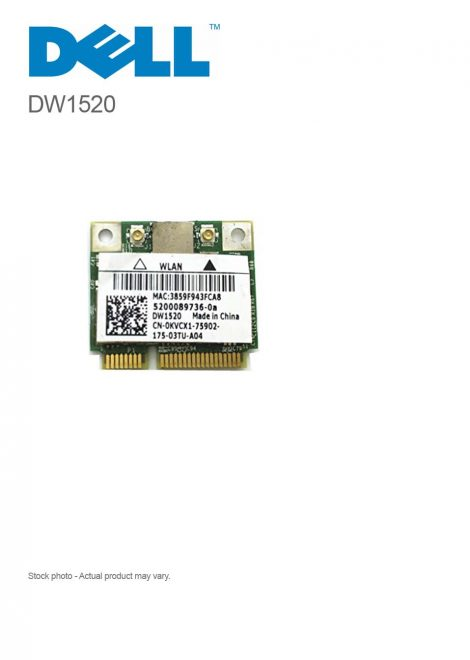 DELL DW1520 Wireless-N Broadcom BCM94322HMS 300Mbps WIFI MINI PCI-E Wlan Card