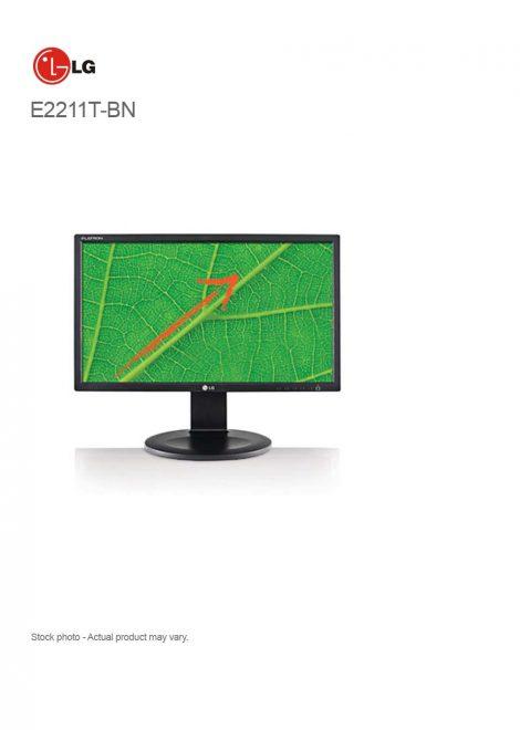 "LG E2211T-BN 22"" LED-backlit Business Monitor 1920 x 1080"