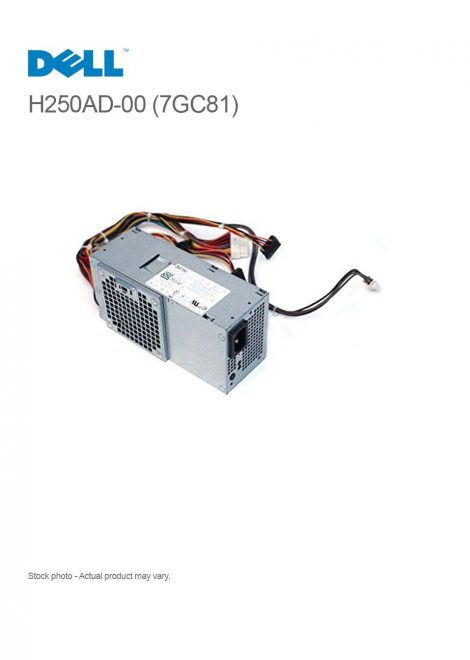 DELL H250AD-00 250W Power Supply for OptiPlex 390 790 990 DT