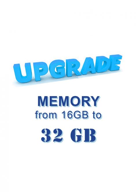 Upgrade RAM from 16 GB to 32 GB