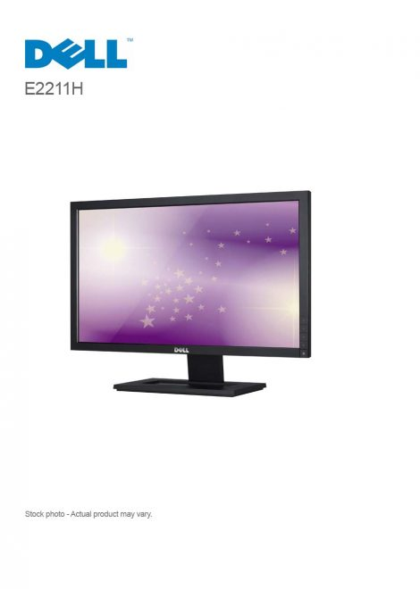"""Dell E2211H 21.5"""" Monitor with LED"""